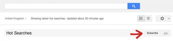 busquedas populares e1399399147884 Google Trends permite suscripciones por email